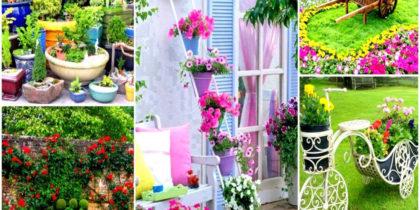 HOW TO ARRANGE PLANTS IN A GARDEN SMALL HOME FLOWER GARDEN IDEAS