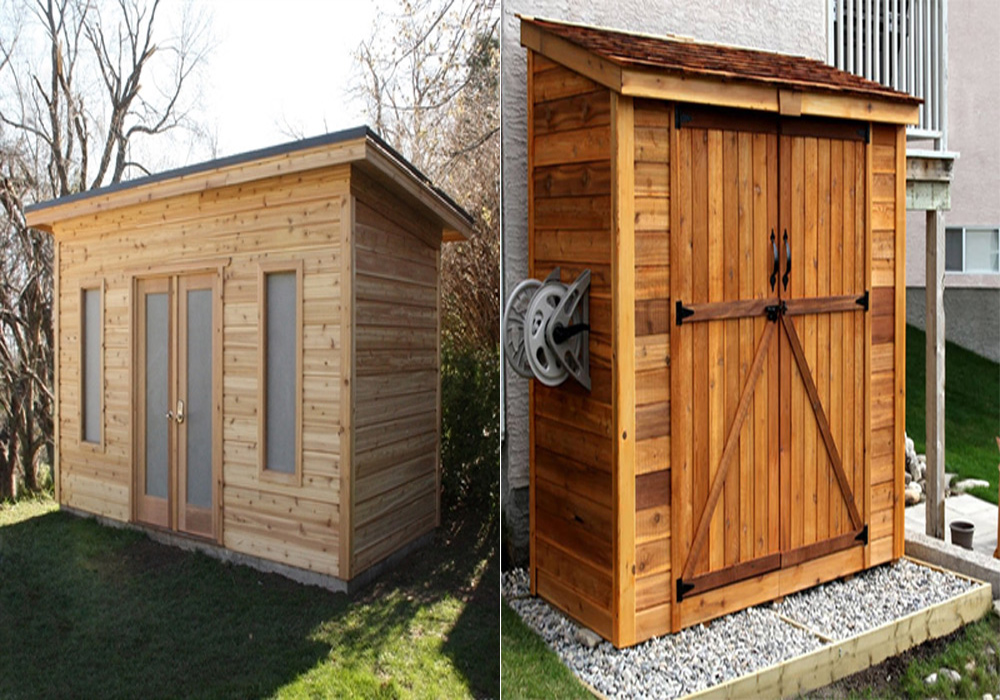 Benefits of Outdoor Sheds and Materials Used to Build Them