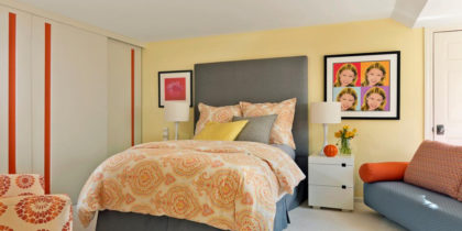 Bedroom Decorating Ideas That Use Yellow